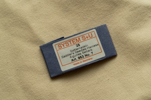 Leather craft hand sewing  System S+U Needles