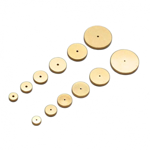 Brass spacer wheels